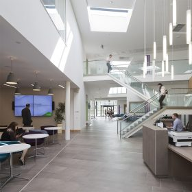 Project: University of Highland & Islands | Product: Optima 117 Plus